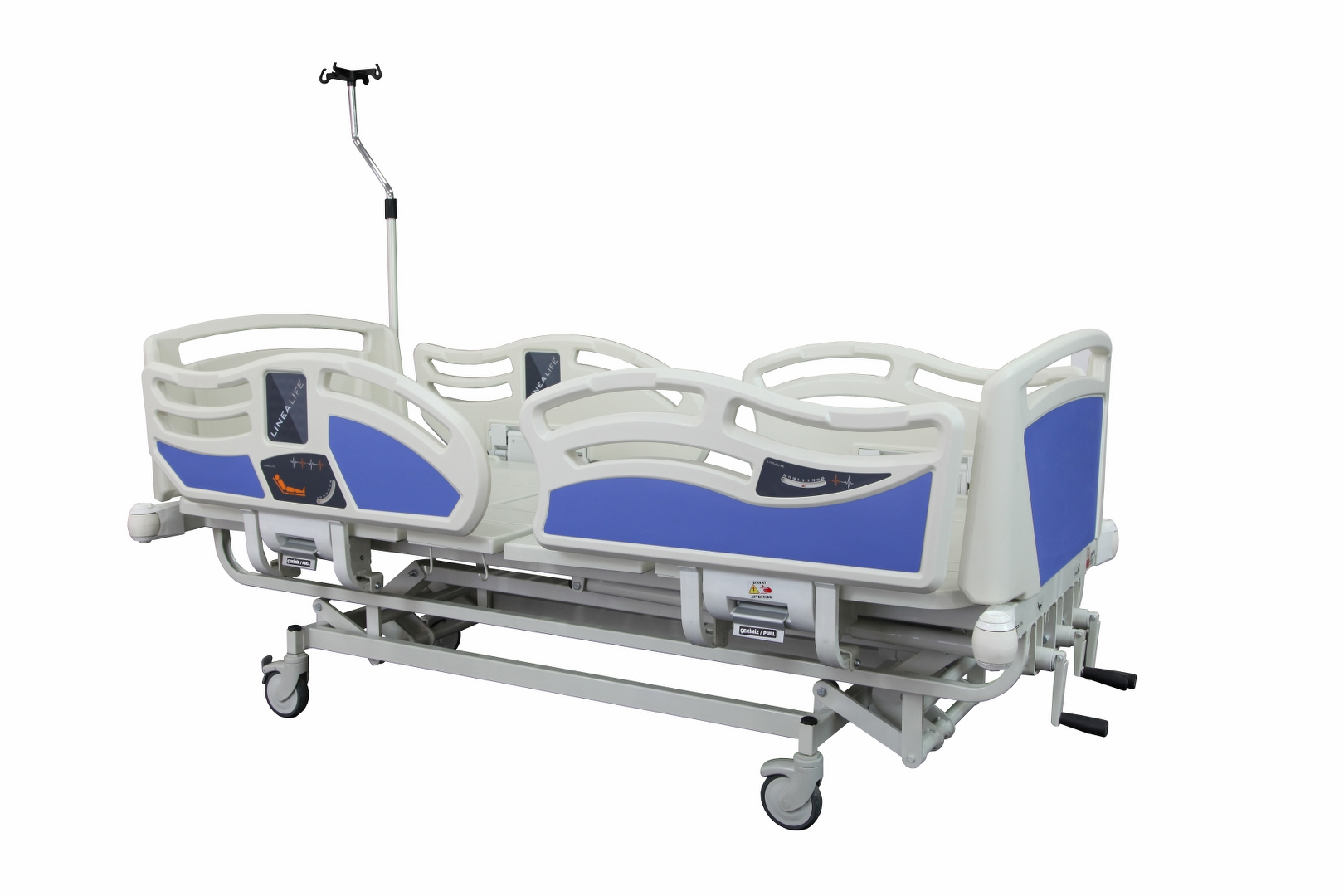 HKM-Y30 MECHANICAL HOSPITAL BED WITH 3 ADJUSTMENT
