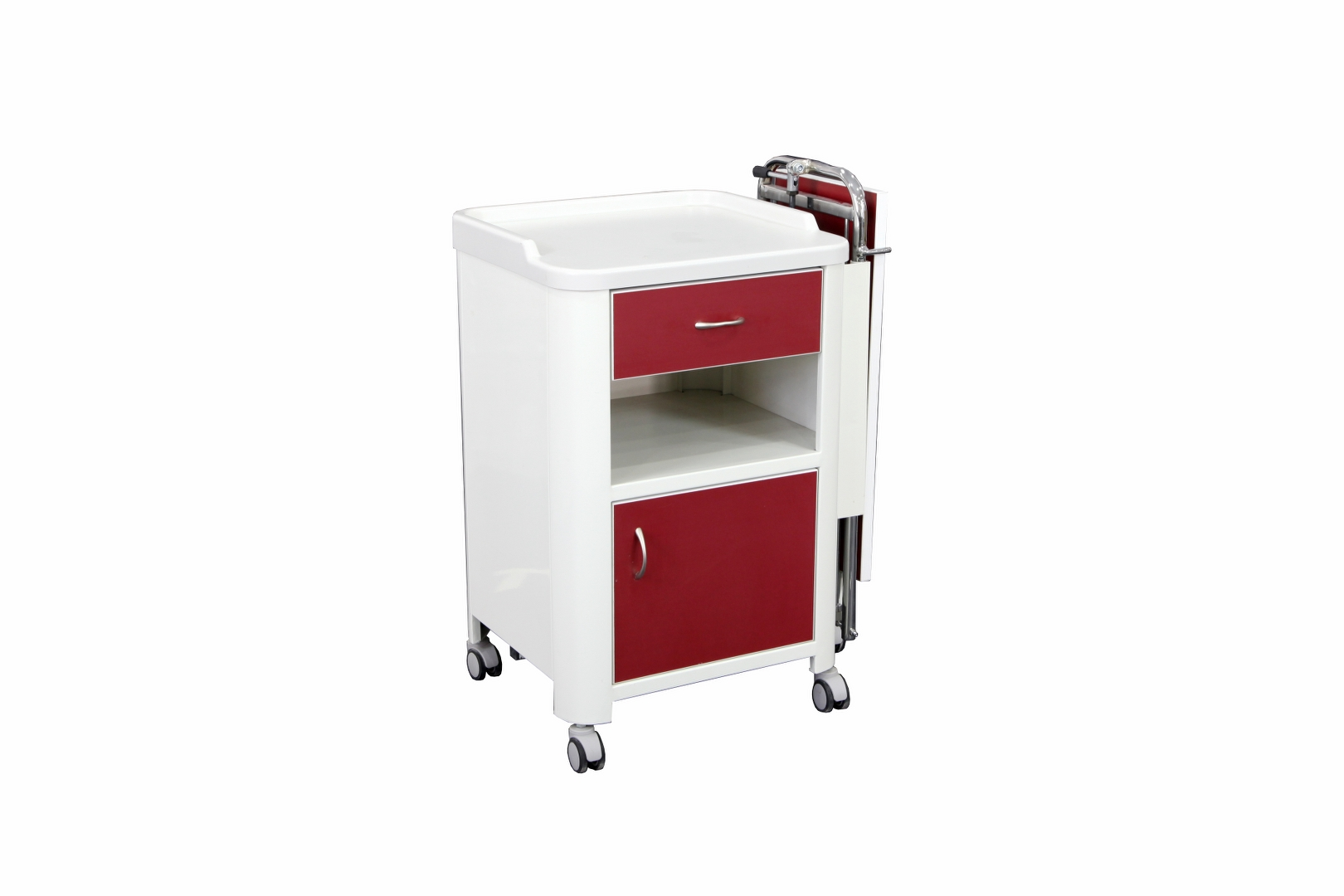 YTK-10 BEDSIDE CABINET WITH OVERBED TABLE
