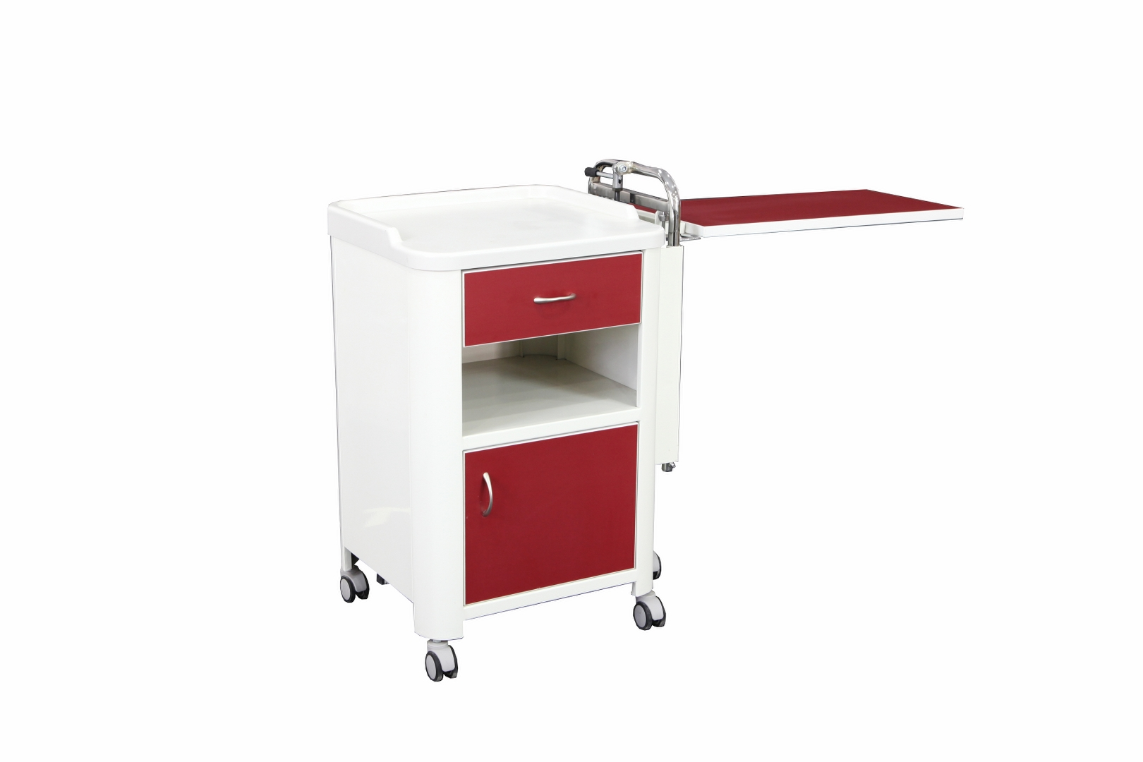 YTK-10 BEDSIDE CABINET WITH OVERBED TABLE Detail 1