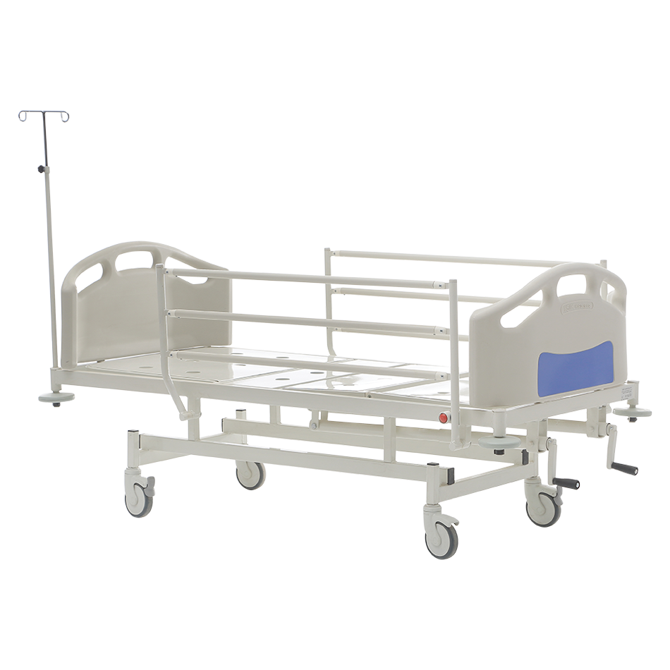 HKM-PB10 MECHANICAL HOSPITAL BED WITH 2 ADJUSTMENT Detail 1