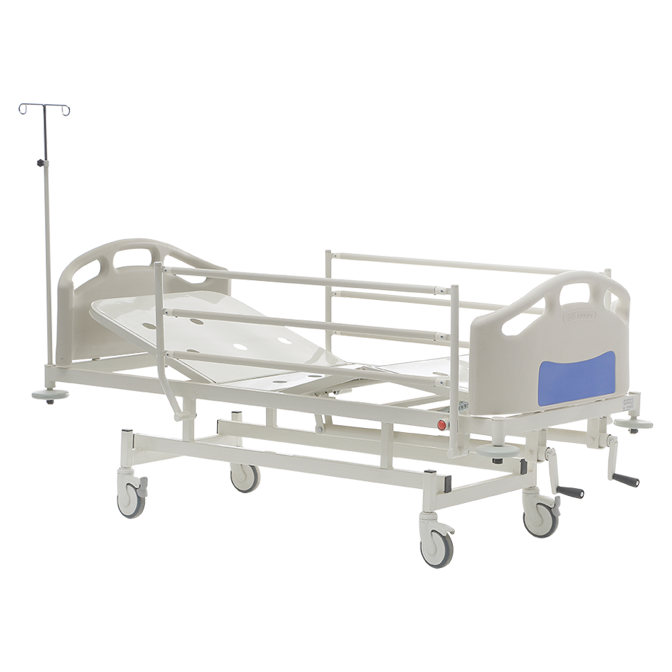 HKM-PB10 MECHANICAL HOSPITAL BED WITH 2 ADJUSTMENT