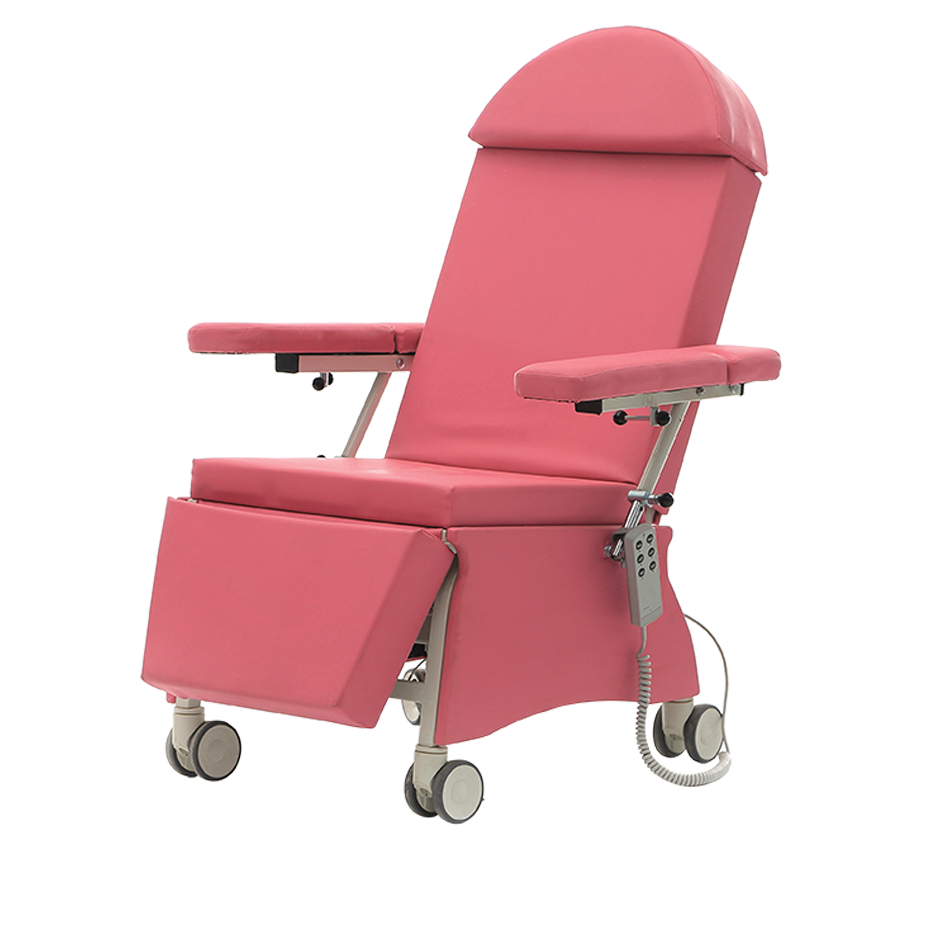 KALX-30 BLOOD TRANSFUSION CHAIR WITH 2 MOTORS