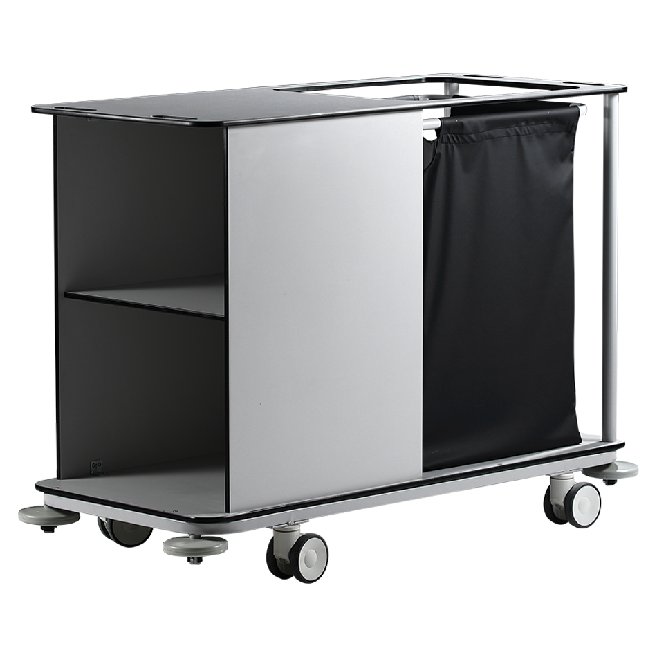 KRL-2300 DIRTY – CLEAN LINEN TROLLEY Detail 3