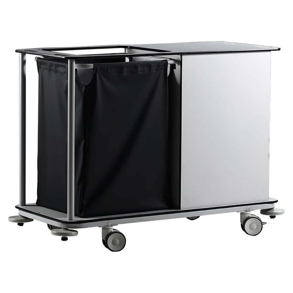 KRL-2300 DIRTY – CLEAN LINEN TROLLEY Detail 2