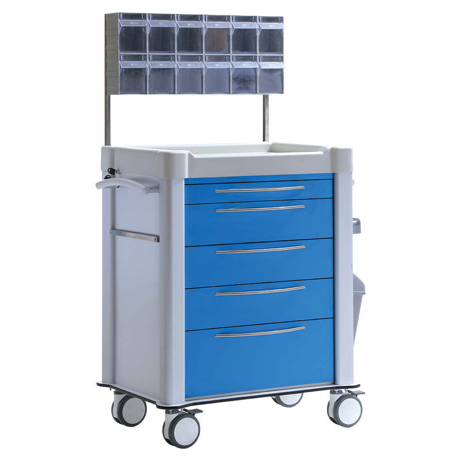 TECHNOplus TPS-3025 MEDICINE & TREATMENT CART Detail 2