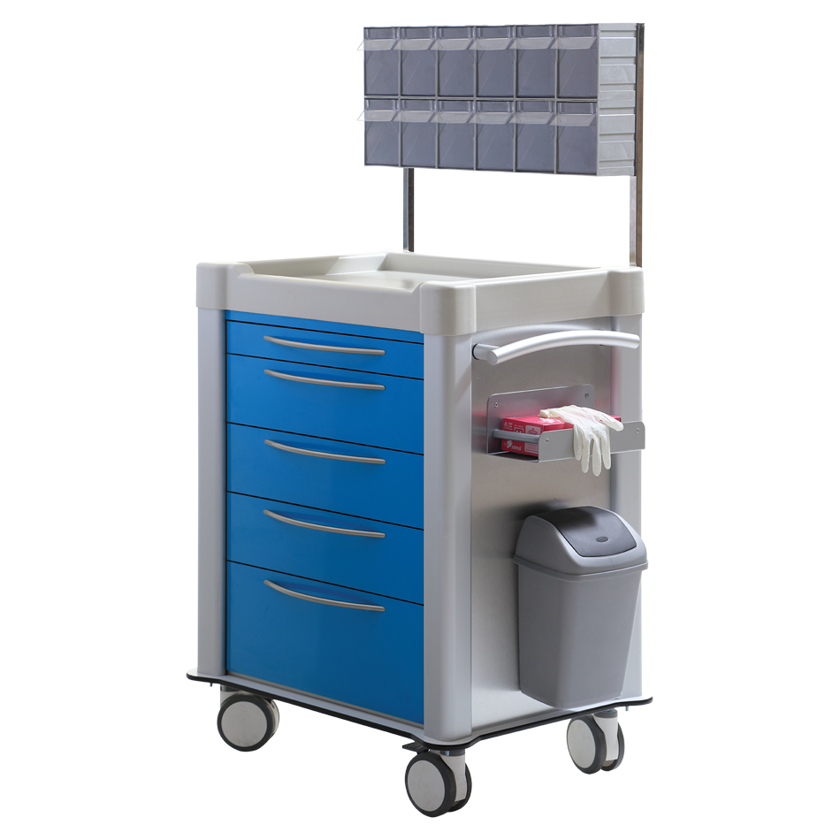 TECHNOplus TPS-3025 MEDICINE & TREATMENT CART Detail 0